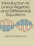 Introduction to Linear Algebra and Differential Equations 9780486158310