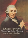Eleven Late String Quartets, Opp. 74, 76 and 77, Complete 9780486171999