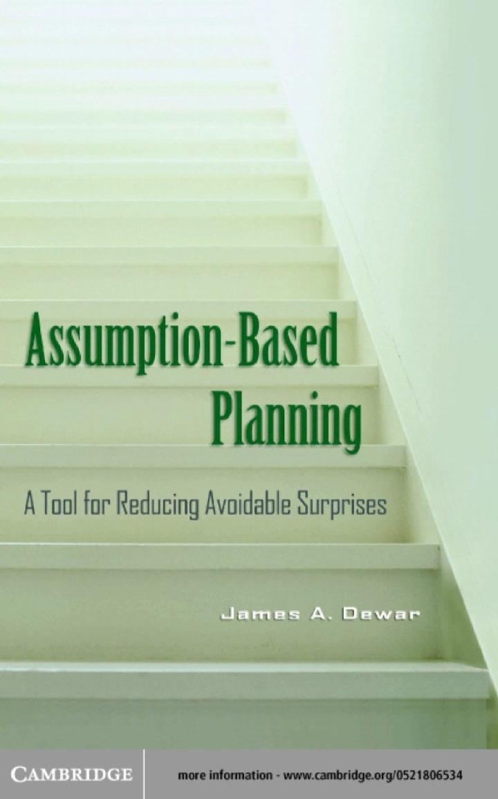 Assumption-Based Planning