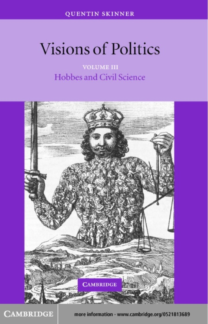 Visions of Politics: Volume 3, Hobbes and Civil Science