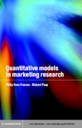 Quantitative Models in Marketing Research 9780511032370