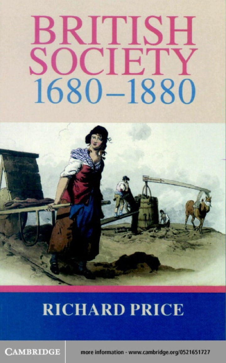 British Society 1680–1880