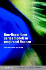 """""""Non-Linear Time Series Models in Empirical Finance"""" (9780511034084)"""