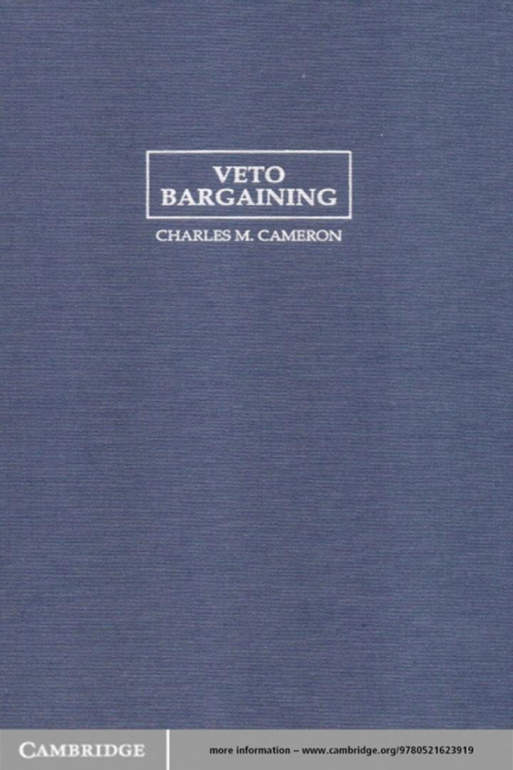 Veto Bargaining