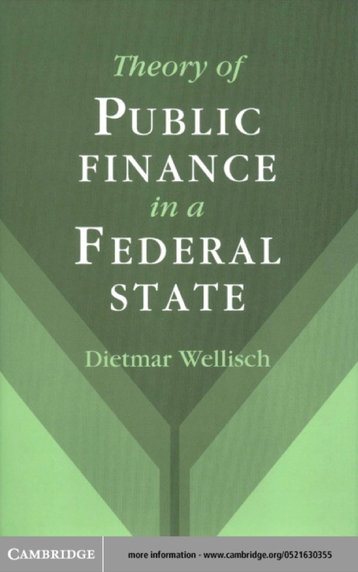 Theory of Public Finance in a Federal State
