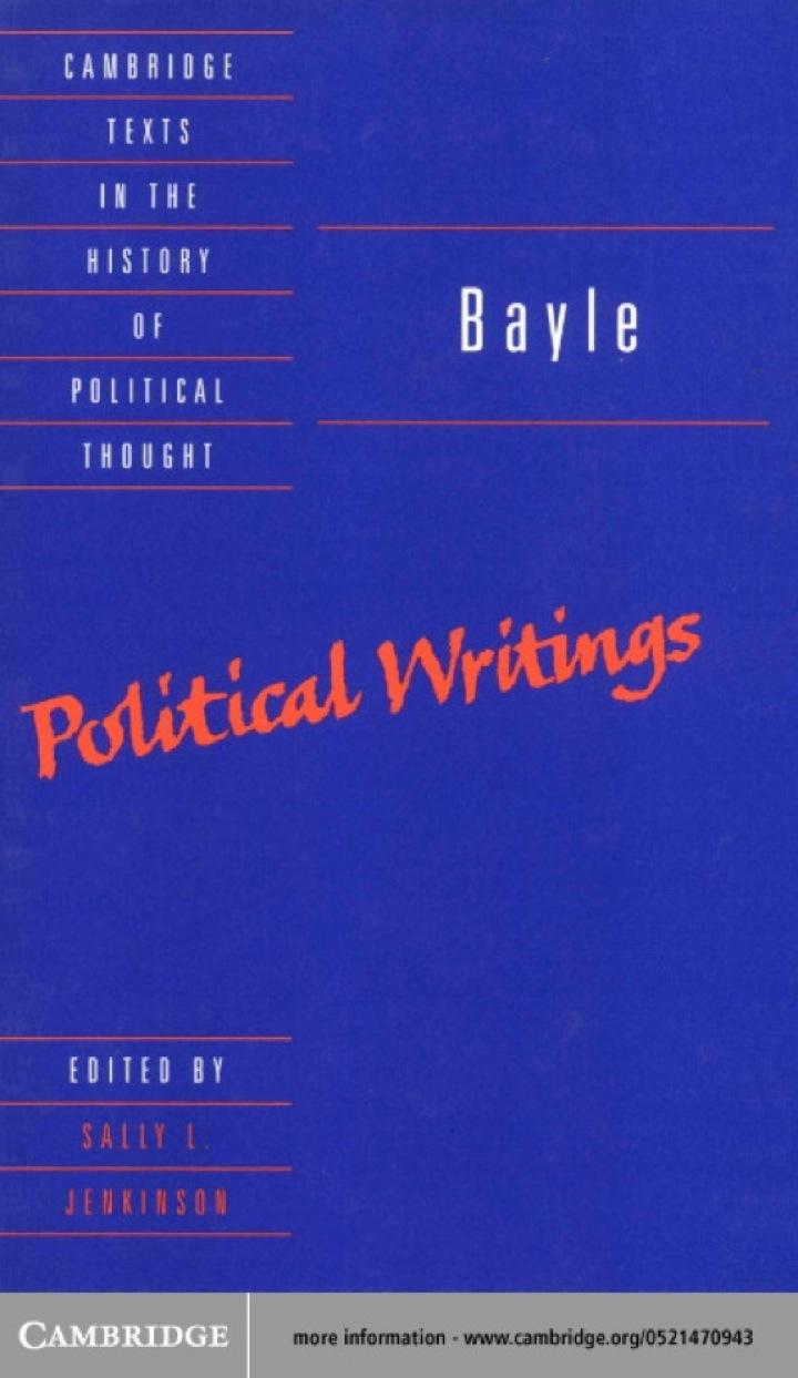 Bayle: Political Writings