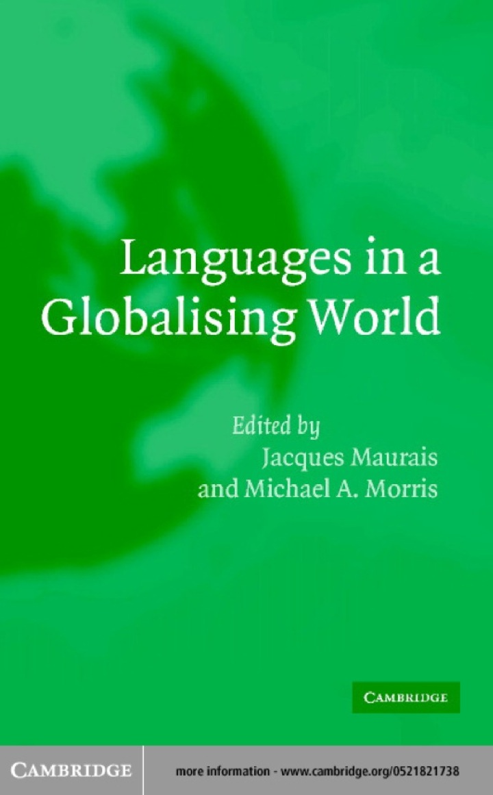 Languages in a Globalising World
