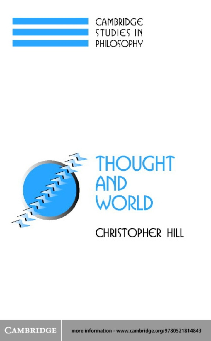 Thought and World