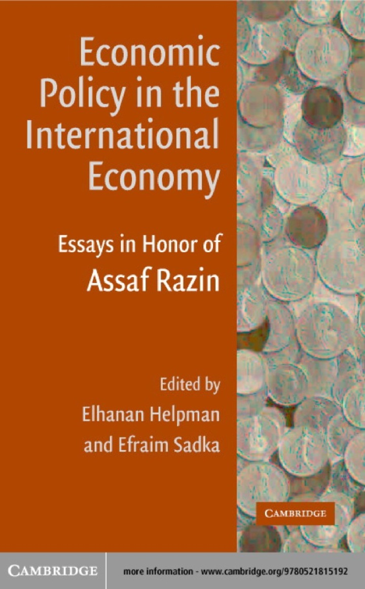 Economic Policy in the International Economy