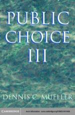 """Public Choice III"" (9780511058714)"