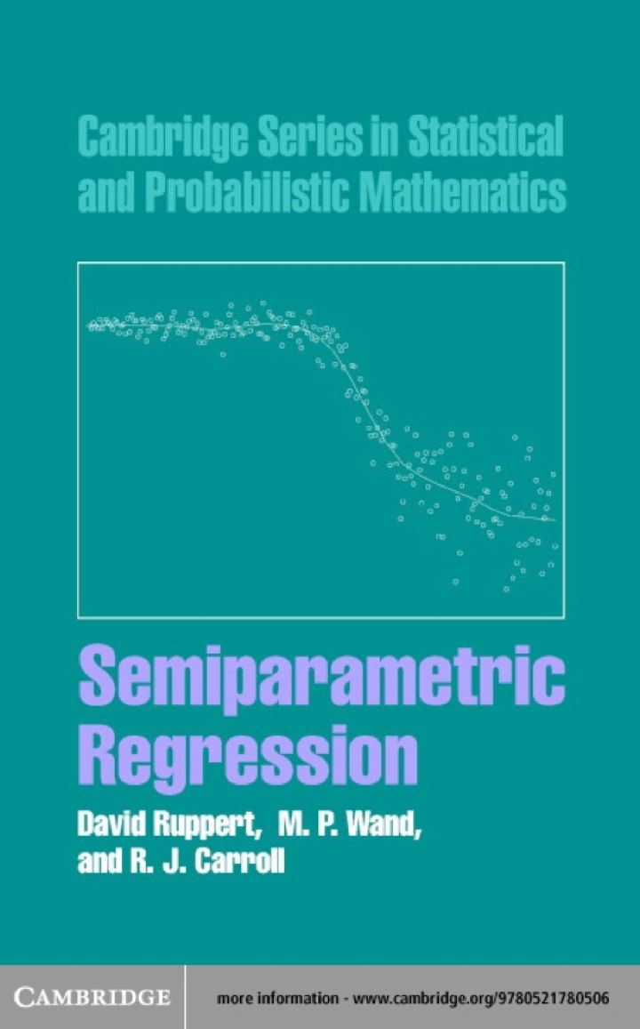 Semiparametric Regression
