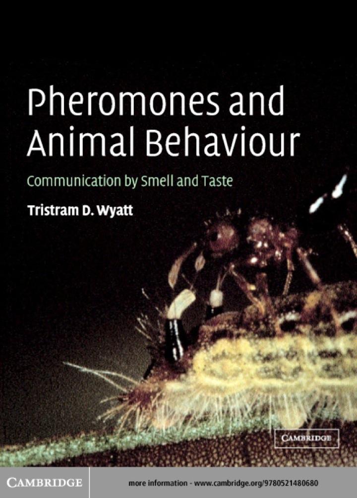 Pheromones and Animal Behaviour