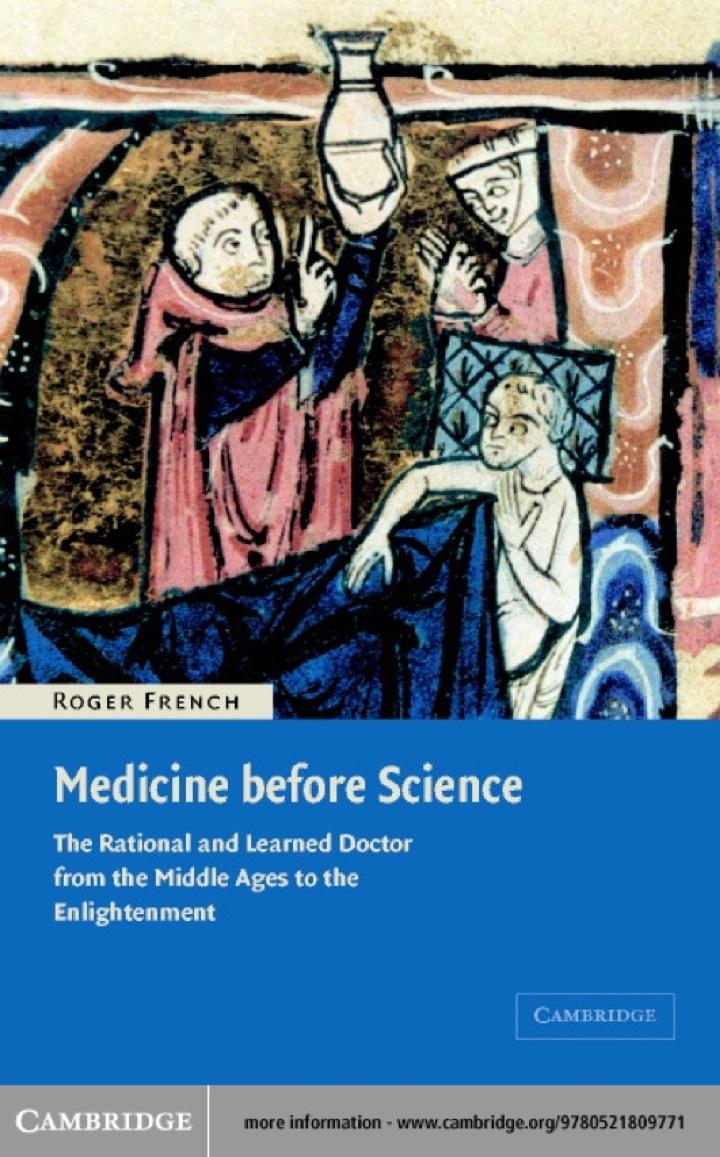 Medicine before Science