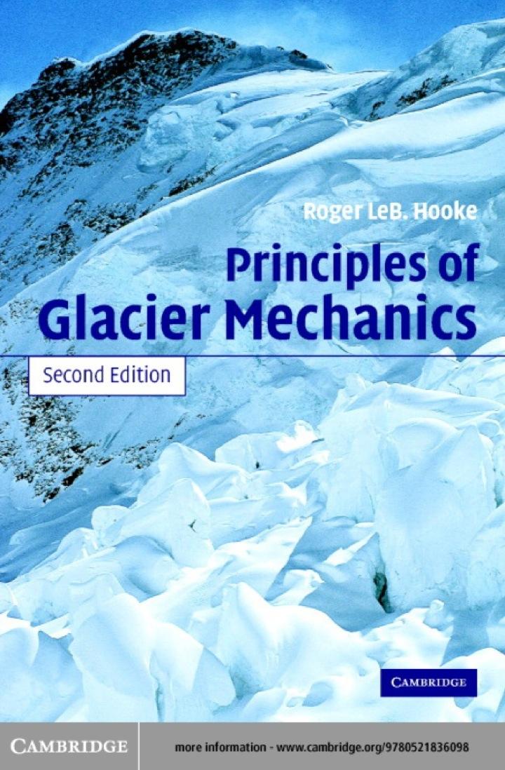 Principles of Glacier Mechanics