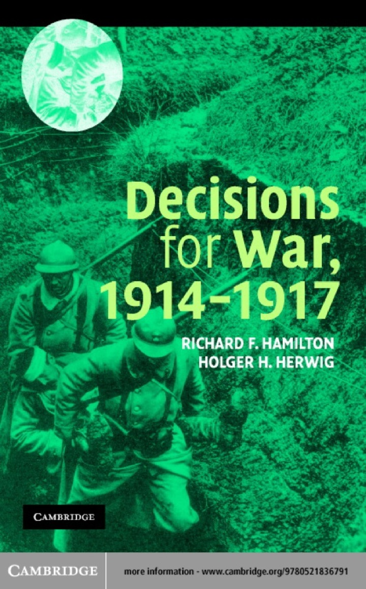 Decisions for War, 1914–1917