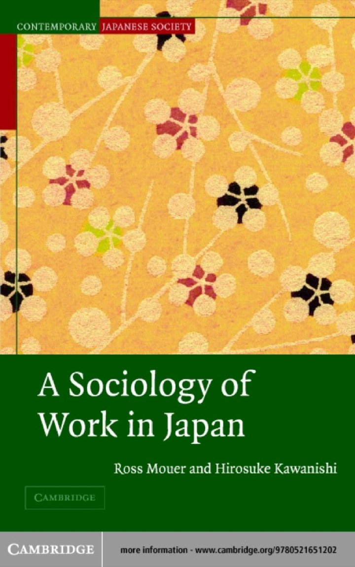 A Sociology of Work in Japan