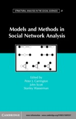 """Models and Methods in Social Network Analysis"" (9780511110047)"