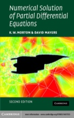 """""""Numerical Solution of Partial Differential Equations"""" (9780511110306)"""