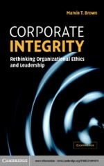 """Corporate Integrity"" (9780511112003)"