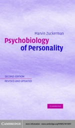 """Psychobiology of Personality"" (9780511113758)"