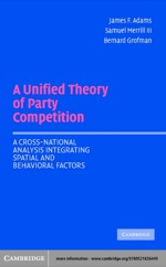 """A Unified Theory of Party Competition"""" (9780511113901)"""
