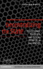 """Decentralizing the State"""" (9780511114113)"""