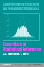 """""""Essentials of Statistical Inference"""" (9780511124020)"""