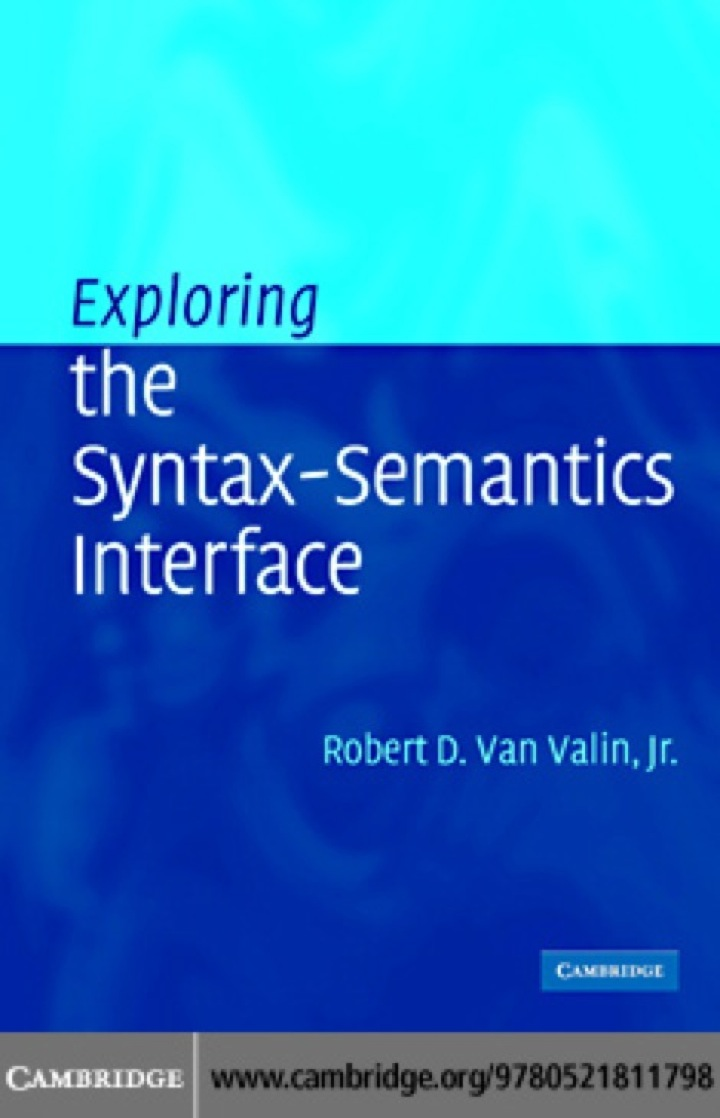 Exploring the Syntax-Semantics Interface