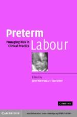 """""""Preterm Labour"""" (9780511126499)"""