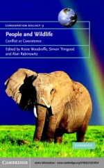 """People and Wildlife, Conflict or Co-existence?"" (9780511126529)"