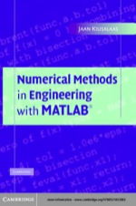 """""""Numerical Methods in Engineering with MATLAB®"""" (9780511126765)"""