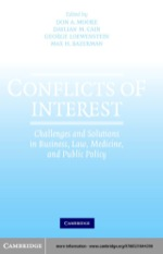 """Conflicts of Interest"" (9780511128370)"