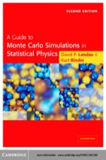 """A Guide to Monte Carlo Simulations in Statistical Physics"" (9780511128387)"