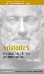 """""""Aristotle's Nicomachean Ethics"""" (9780511128561)"""