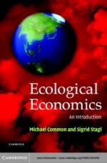 """Ecological Economics"" (9780511128752)"