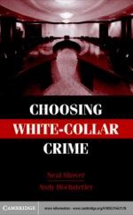 """Choosing White-Collar Crime"" (9780511131400)"
