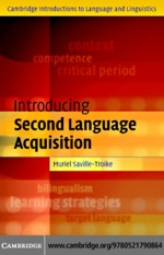 """""""Introducing Second Language Acquisition"""" (9780511133305)"""