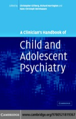 """""""A Clinician's Handbook of Child and Adolescent Psychiatry"""" (9780511133350)"""