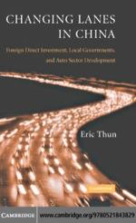"""Changing Lanes in China"" (9780511133596)"