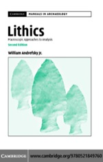 """Lithics"" (9780511133770)"