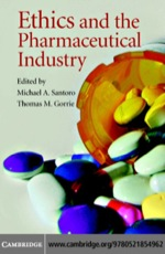 """Ethics and the Pharmaceutical Industry"" (9780511133992)"