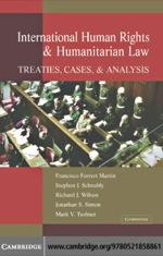 """""""International Human Rights and Humanitarian Law"""" (9780511134180)"""