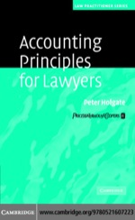 """""""Accounting Principles for Lawyers"""" (9780511137839)"""
