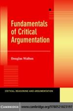 """Fundamentals of Critical Argumentation"" (9780511137921)"