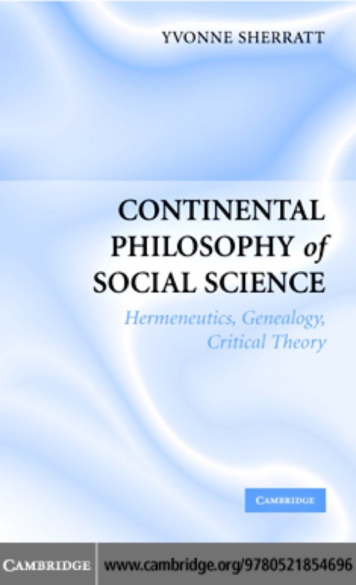 Continental Philosophy of Social Science