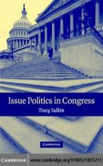 """Issue Politics in Congress"" (9780511138263)"