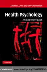"""Health Psychology"" (9780511144806)"