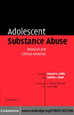"""Adolescent Substance Abuse"" (9780511144820)"