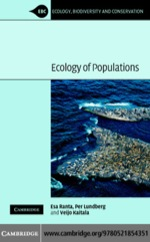 """""""Ecology of Populations"""" (9780511145049)"""