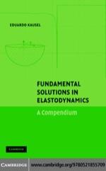 """Fundamental Solutions in Elastodynamics"" (9780511145070)"